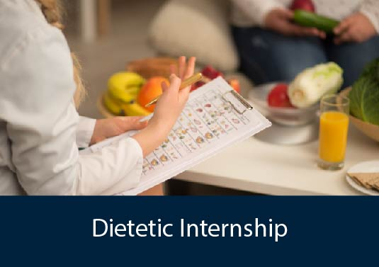 dietitian meeting with patient - Dietetic Internship program